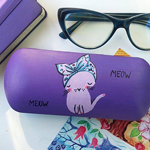 Glasses case for girls kitten