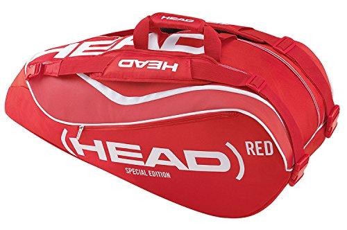 HEAD Schlägertasche Combi Bag, Rot, 77 x 32 x 34 cm, 60 Liter, 0063270192300000