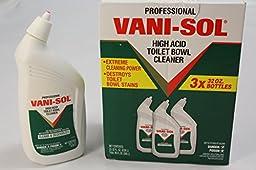 Pro Vani-Sol High Acid Bowl Cleanser 32oz Bottles/ 3 per carton