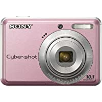 Sony Cyber-shot® DSC-S930 10-MP Digital Camera with 3x Optical Zoom, 2.4 LCD, Image Stabilization, Face Detection (Pink).