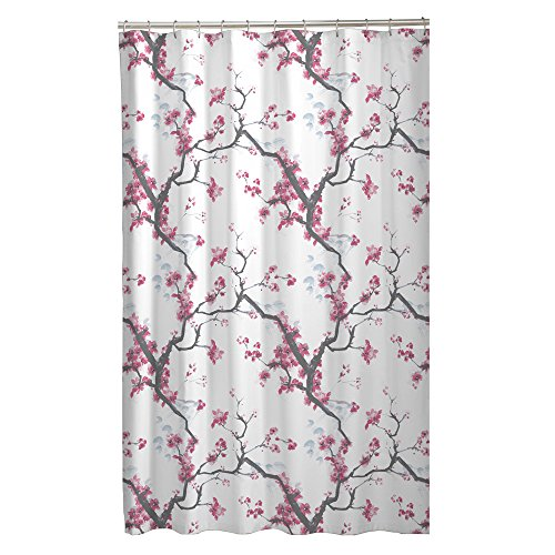 Maytex Cherrywood Blossom Fabric Shower Curtain Multi