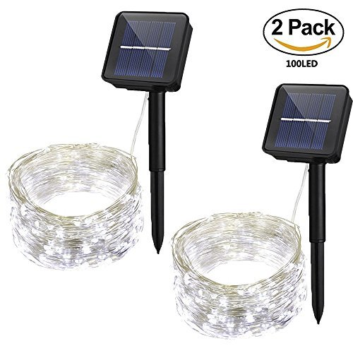 100 Solar Fairy Lights in US - 3