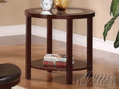 ACME Furniture 80189 Patia End Table, Espresso