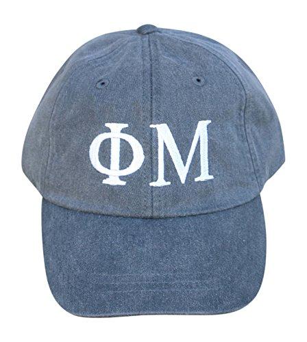 Mega_Greek Womens Phi Mu Baseball Cap -