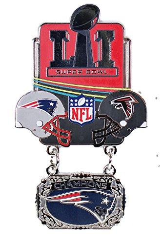 Oversize Pin (Super Bowl LI (51) Oversized Commemorative Pin - Dangler Style)