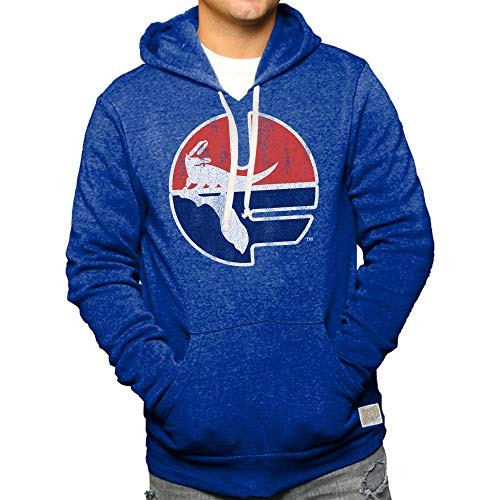 Florida Retro Sweatshirt - Elite Fan Shop Florida Gators Retro Hooded Sweatshirt Blue - XL