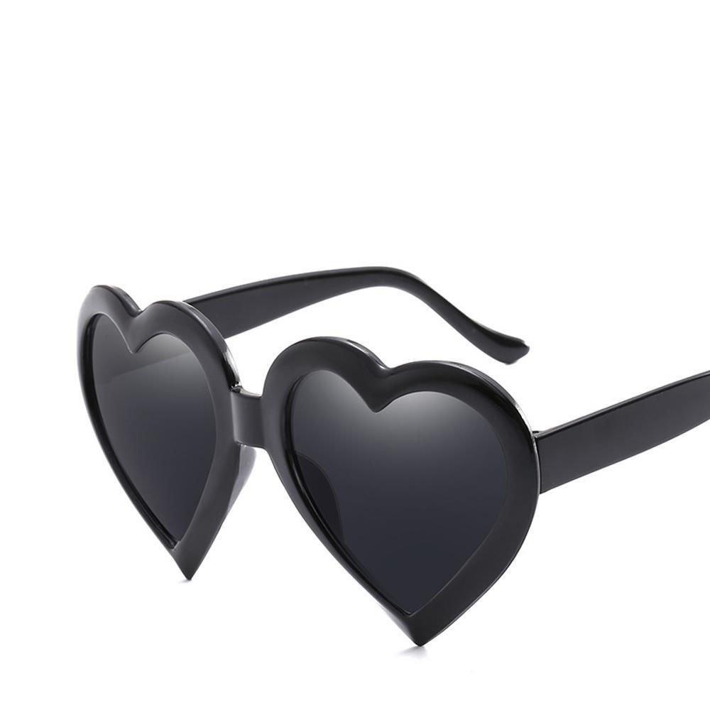 Aoligei Chao Mans Sonnenspiegel Herzform Herz Brille lieben große herzförmige Brille Sonnenbrille zp10Tiu50H