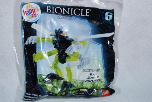 2008 McDonalds Happy Meal Toy Lego Bionicle Mistika #6 Gorast - Action Figure