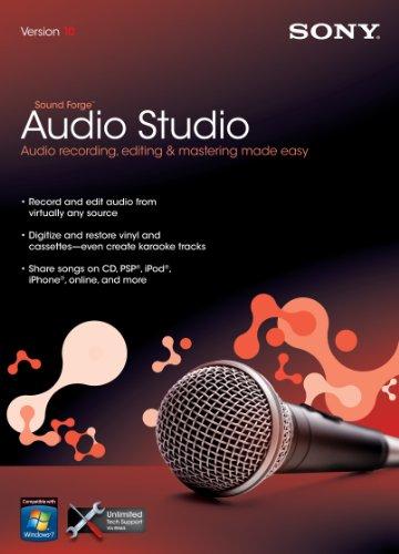 (Sony Sound Forge Audio Studio 10)