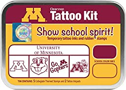 Clearsnap Color Box University of Minnesota Tattoo Kit