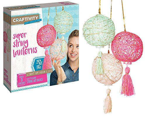 CRAFTIVITY Super String Lanterns Crafts product image