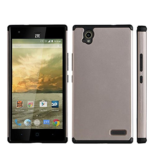 4035e3c18d Amazon.com: ZTE Warp Elite N9518 Case - Dual Layer Armor Protector ...