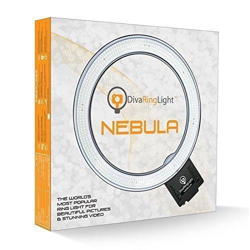 Diva Ring Light Nebula 18'' LED Dimmable Ring Light by Diva Ring Light
