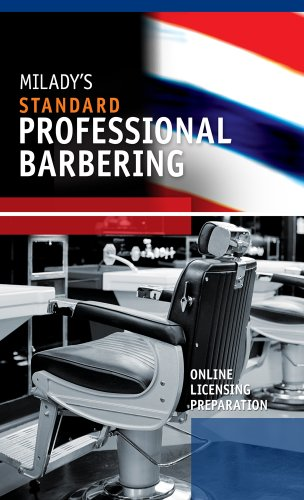 Printed Access Card for Milady U Online Licensing Preparation: Professional Barbering