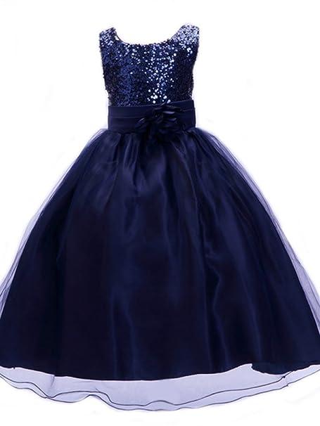 Vestido de Niña, Vestido de Lentejuel, Dama de Honor, Vestido de Fiesta (