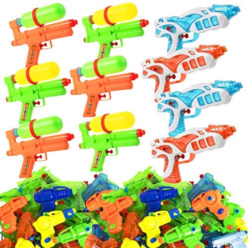 (Narwhal Novelties Water Gun (50-Pack) Squirt Gun Assortment; Water Guns for Kids & Squirt Guns for Kids )