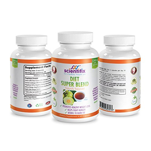Weight Loss Supplement: 9 POWERFUL Ingredients: Garcina Cambogia, Green Coffee Bean, Green Tea, Raspberry Ketone, Glucomannan, African Mango, Grapefruit, Acai Berry, Apple Cider Vinegar