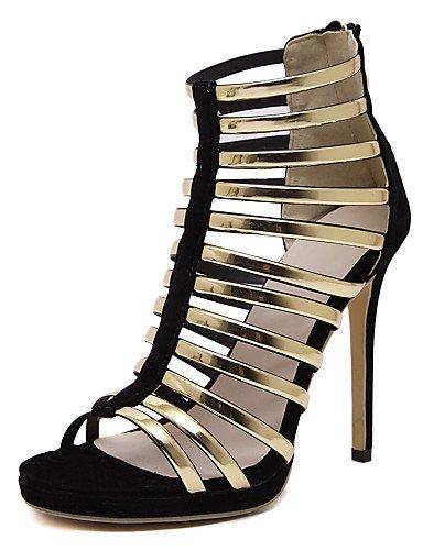 LFNLYX Zapatos de mujer-Tacón Stiletto-Tacones / Comfort / Innovador / Botas a la Moda / Zapatos y Bolsos a Juego-Sandalias / Botas / Sneakers a Red