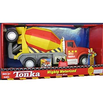 Tonka Mighty Motorized Cement Mixer
