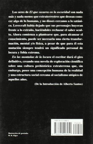 El Que Susurra En La Oscuridad / The Whisperer in Darkness (Biblioteca H.P. Lovecraft VII) (Spanish Edition)