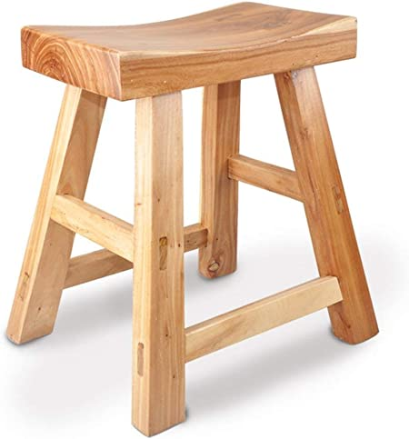 Bathroom Stools Household Bathroom Anti Corrosion Wooden Stool Shower Room All Solid Wood Adult Bath Wooden Bench Old Small Bench Change Of Shoe Stool Amazon Co Uk Kitchen Home