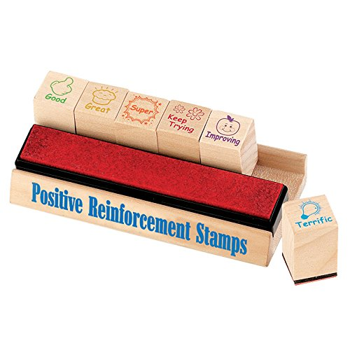 Educational Insights EI-1656BN Positive Reinforcement Stamps, MultiPk 2 Each