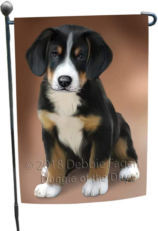 Doggie of the Day Greater Swiss Mountain Dog Garden Flag GFLG52801