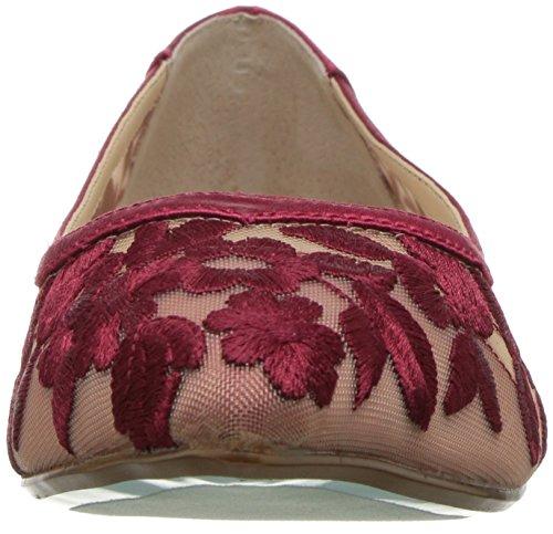 Johnson Betsey Blue Flat Womens by Red SB Leah Fabric Ballet qvx4wA