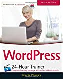 WordPress 24-Hour Trainer 3rd Edition