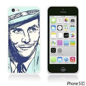 OnlineBestDigitalTM - Celebrity Star Hard Back Case for Apple iPhone 5C - Hank Williams Pop Art hjbrhga1544