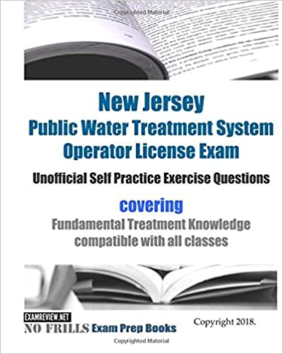 New Jersey Public Water Treatment System Operator License