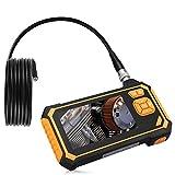 Industrial Endoscope 1.18-197 inch Focal Distance Digital 4.3inch LCD 2600mAh Battery Semi-Rigid Borescope