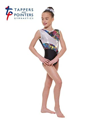 ae2feb9fc63a Tappers   Pointers Gym 39 Foiled Nylon Lycra Gymnastic Leotard ...