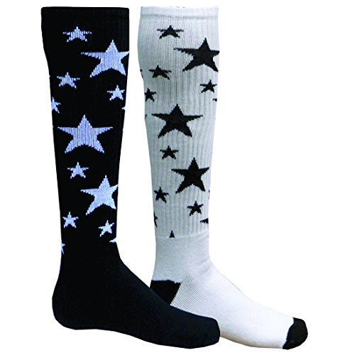 Red Lion Mx Stars Mismatched Knee High Socks