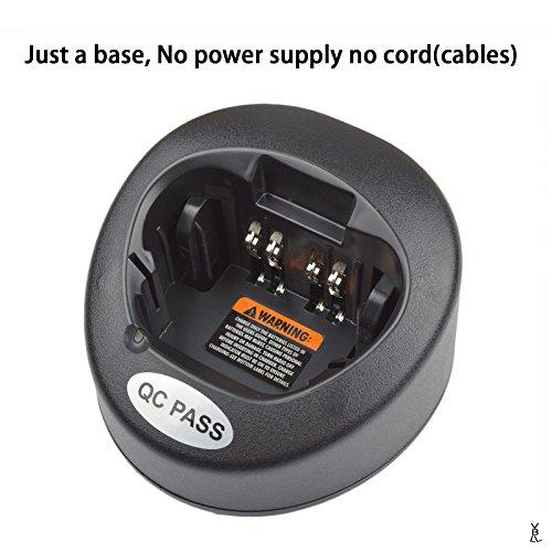 Rapid Charger Base for Motorola XTS5000 XTS4250 XTS3500 XTS3000 XTS2500 XTS2250 MTX9000 MTX8000 MTX900 MTS2000 MT2000 HT1000 Radio ()