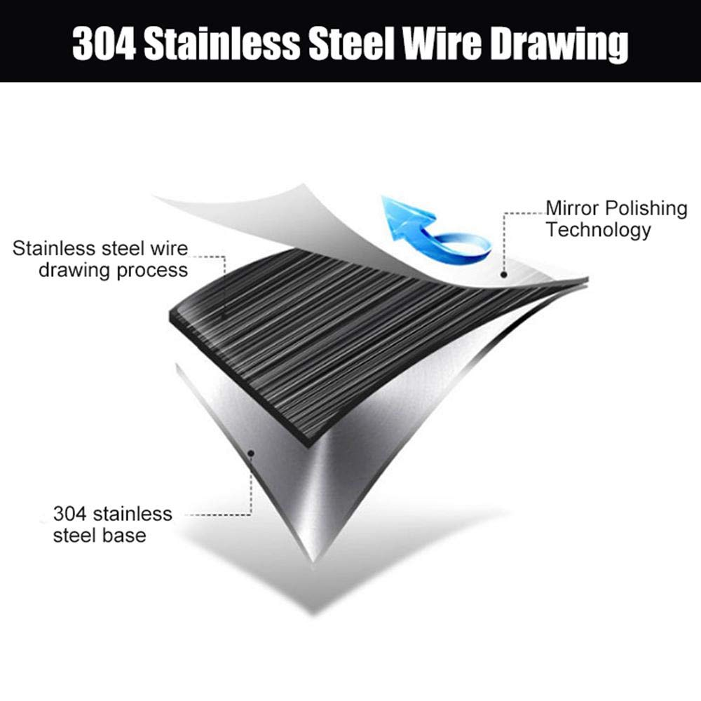 Stainless Steel Car Rear Bumper Guard Plate Protector for Tesla Model 3 lesgos Rear Bumper Protectors