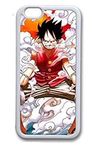 iPhone 6/6S Case,White,TPU(Soft plastic)Case For iPhone 6/6(be customized)Ultra Slim Case,Latest style Case[4.7 In]Ultra-thin Case Easy To Operate-One Piece Anime 316
