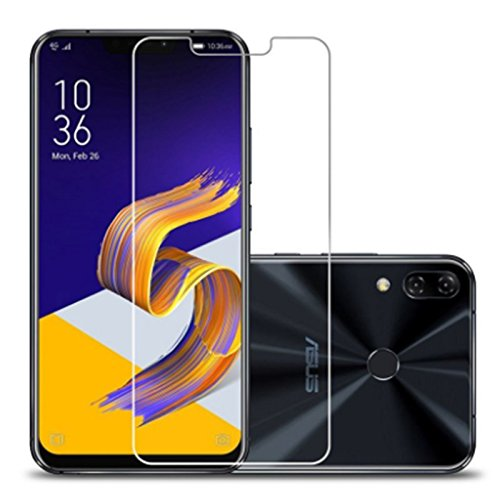 For Asus Zenfone 5Z ZS620KL Screen Protector Tempered Glass - 2PCS Screen Protective Film for Asus ZF 5Z ZS620KL