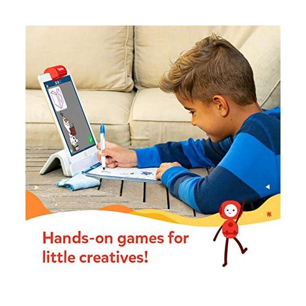 Osmo Essence Super Studio Disney Frozen 2 Game – Et 5-11 – Imparare a disegnare Elsa, Anna, Olaf & More Favorites & Guarda Come to Life – per iPad & Fire Tablet Base necessaria 4 spesavip