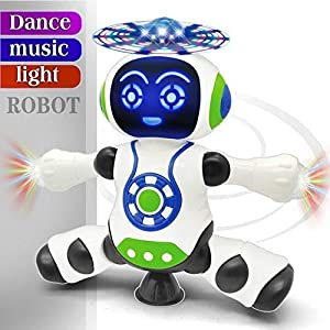 FunBlast Dancing Robot with Music,...