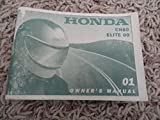 2001 Honda CH80 Owners Manual CH 80 Elite