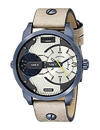 Diesel Men's Mini Daddy DZ7338 Tan Leather Quartz Watch