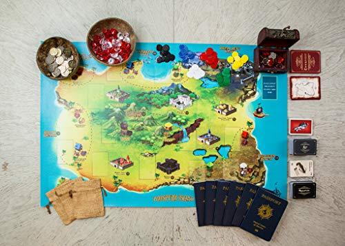 Castaway Curse Board Game