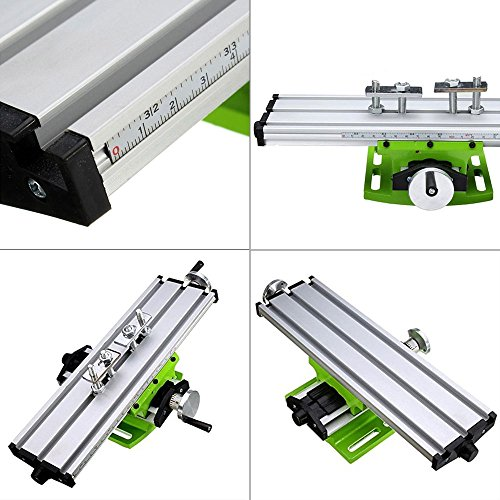 Multifunction Worktable Milling Working Table Milling Machine Compound Drilling Slide Table For Bench Drill By BEAUTY STAR by Beauty Star (Image #3)
