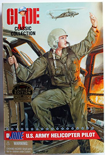 GI Joe Classic Collection U.S. Army Female Helicopter Pilot with Red Hair 12inch Action Figure ()