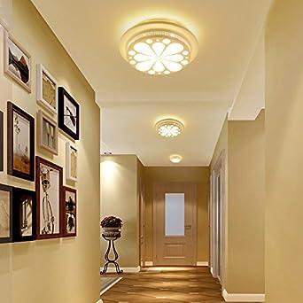 Woo simple moderno creativo LED Luz plafoniere para la escalera, entrada, Salón, Pasillo, Pasillo, balcón: Amazon.es: Iluminación