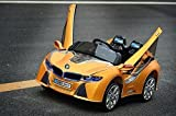 2016 Limited Edition BMW i-8 style Ride On Car For Kids Ages 2-6 +RC Yellow