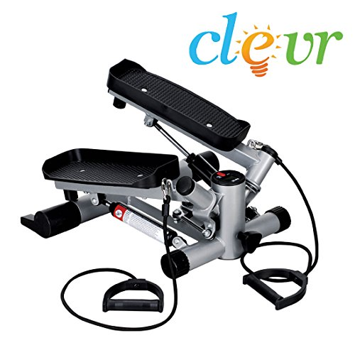 Clevr Twister Stepper Step Machine Cardio Fitness Trainer Stair Climber Exercise ()