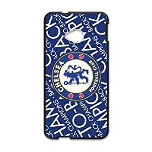 Chelsea team logo series For HTC One M7 Csaes phone Case THQ140229