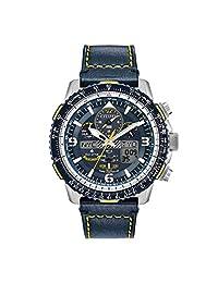 Men's Citizen Eco-Drive Promaster Blue Angels Skyhawk A-T Watch JY8078-01L